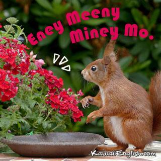 Eeny Meeny Miney Mo.